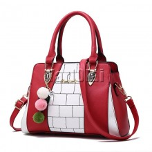 Hand Bag Red