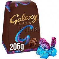 Galaxy Truffles Smooth Chocolate 206g