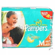 Pampers M 5-10 kg 66 Diapers