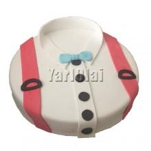 Shirt Cake White