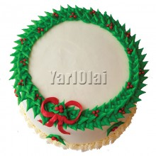X-Mas Wreath Cake