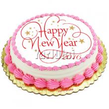 Circle New year Cake