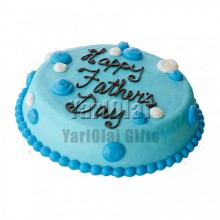 Fathers Day Round Cake