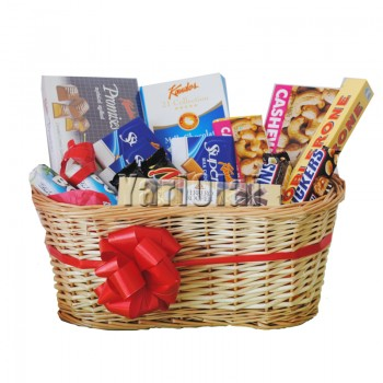 Sweet Lover Chocolate Basket