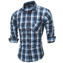 Mens Casual Full Sleeve Shirt