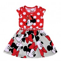 Kids Minnie Dot  Dress