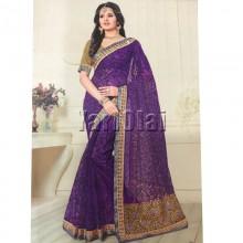 Net Saree 555
