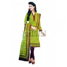 Red & Light Green Salwar 4301