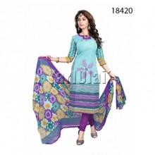 Cotton Shalwar Material 18420