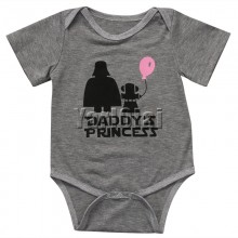 Daddys Princess Cotton Bodysuit