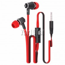 Langsdom JM21 In-ear Earphone Colorful Headset (Red)