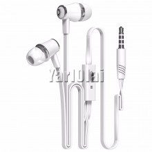 Langsdom JM21 In-ear Earphone Colorful Headset (White)