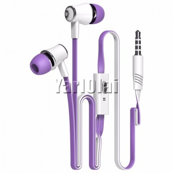 Langsdom JM21 In-ear Earphone Colorful Headset (Purple)