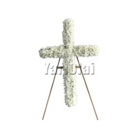 Cross Stand Wreath