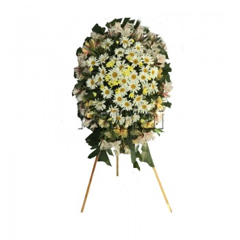 Funeral Wreath - 1 With Stand