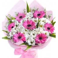 Pink Radiance Hand-tied Bouquet
