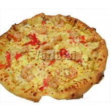 Chinese Prawn Pizza