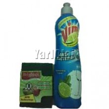 Brightex Sponge Scrubber Vim Liquid
