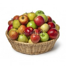 Red and Green Apple Basket
