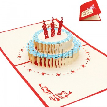 Happy Birthday 3D Pop Up Card
