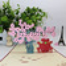 Cherry Blossom Sweetheart 3D Card