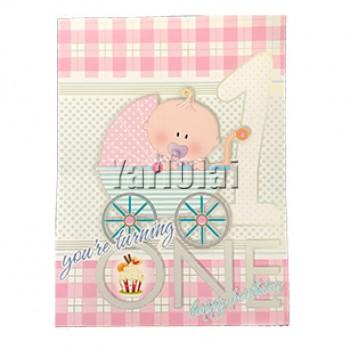 1st Happy Birthday Card GGC690