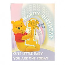 1st Birthday Card GGC790