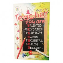 Happy Teachers Day Card GGCT590