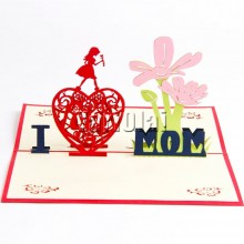 Happy Mother's Day 3D POP Card