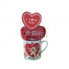 I Love you mug with Heart