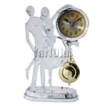 Dancing Couple With Clock