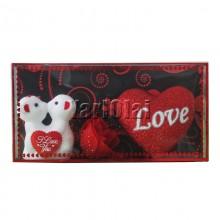 Love Box With Kissing Teddies