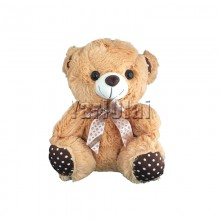 Brown Teddy With Bow