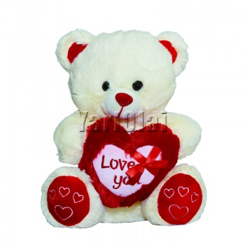 Red Heart  Love you Teddy