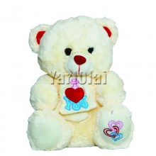 I Love You Teddy With Bow
