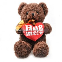 Hug me Dark Brown Teddy
