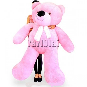 Life Size Teddy (Pink) - 5 ft