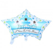 Crown Cap Balloon - Blue