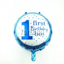 First Birthday Boy Balloon