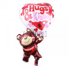 Hugs & Kisses Balloon