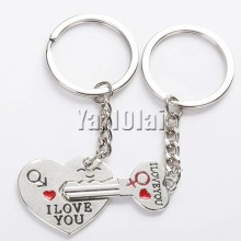 Valentines Day Gift I LOVE YOU Keychain