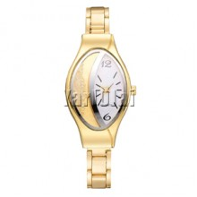 Women Fashion Luxury Watch - Gold