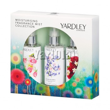 Yardley London Moisturising Fragrance Mist Set