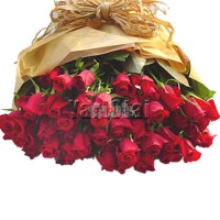 SHEAF OF 40 REDROSES