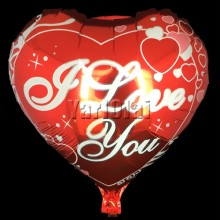 I Love You Foil Balloon 2