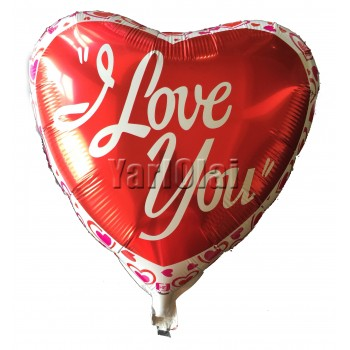 I Love You Foil Balloon 4