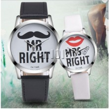 MR Right & Mrs Right Couple Watch