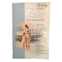 Happy Birthday Card for Fathers