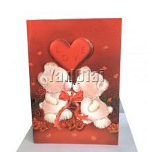 I Love You Card 180