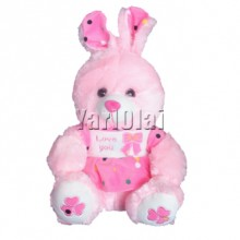 Pink Love You Rabbit